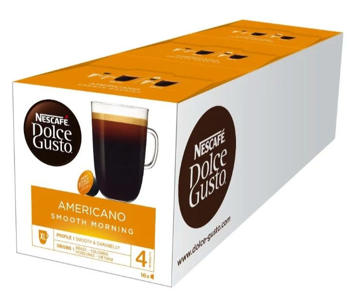 Dolce Gusto Americano SMOOTH MORNING 3х16 капсул