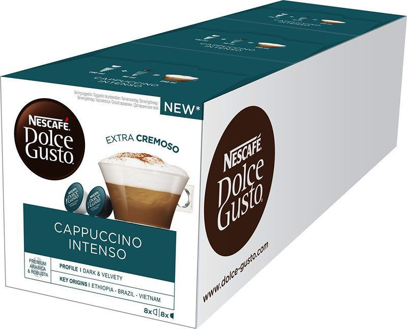 Dolce Gusto Cappuccino intenso 3х16 капсул