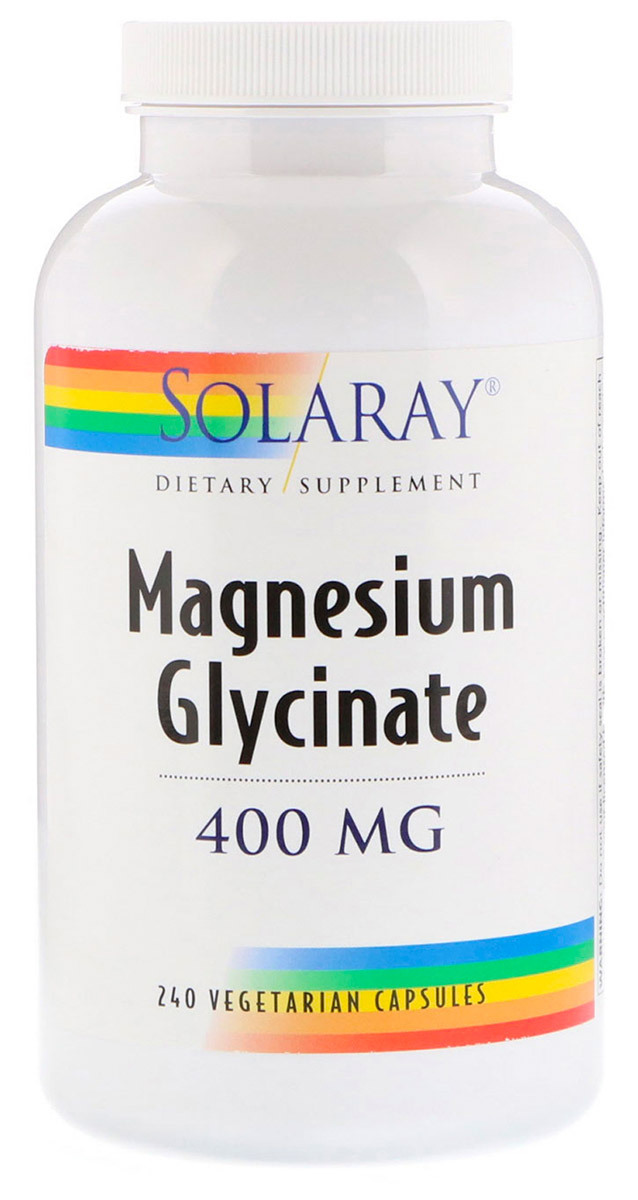 Magnesium Glycinate 400 мг 240 капсул