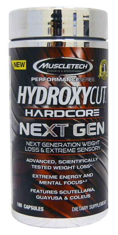 Hardcore hydroxycut take with food