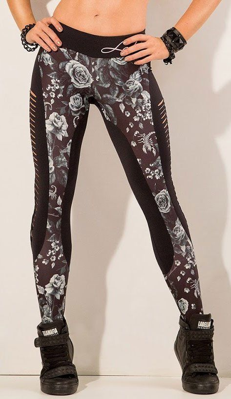 Dark Roses Legging