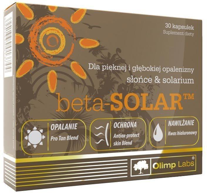 Beta-Solar (Olimp) купить с доставкой, цена  579 ₽, 30 капсул 1de081278ba