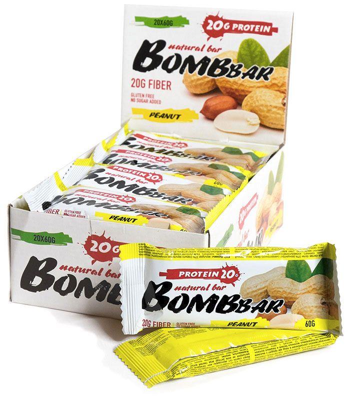 Protein Bar (Bombbar) купить с доставкой, цена  90 ₽, вес  60 г 8cca409b1e8