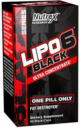 Lipo 6 Black Ultra Concentrate купить в Москве