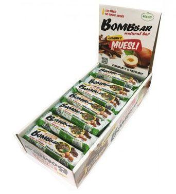Батончик-мюсли (Bombbar) купить с доставкой, цена  40 ₽, вес  40 г 2aeacbb4c4d