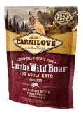 Lamb & Wild Boar for Adult Cats – Sterilised 512324