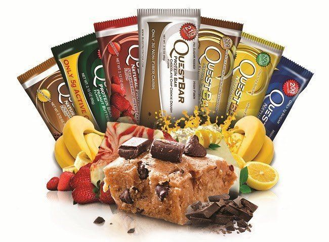 QuestBar все вкусы + Quest Cravings